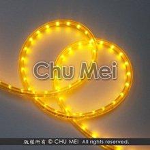 110V-黃色外皮LED二線3528水管燈50米 - led燈條 燈條 圓二線 非霓虹 led 水管燈 管燈 軟條燈