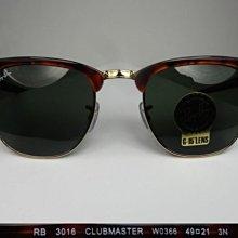 【信義計劃】Ray Ban 雷朋 RB 3016 公司貨 膠框金屬雙材質 鉚釘 眉框 太陽眼鏡 RB3016 3016