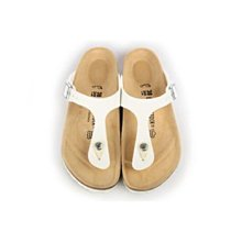 近全新正品德國製 Birkenstock 勃肯 22號35 白色 夾腳 拖鞋 涼鞋 歡迎面交 附鞋盒