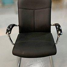 台中二手家具 大里宏品二手家具館 F112612*黑皮洽談椅* 二手各式桌椅 中古辦公家具買賣 會議桌椅 辦公桌椅