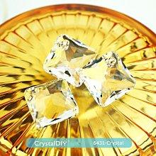 施華洛世奇水晶公主切割吊墜#6431 Crystal 16mm手作素材手作吊飾
