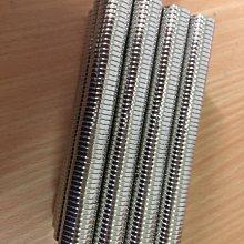 強力磁鐵 14mmx2mm鍍鎳【好磁多】專業磁鐵銷售