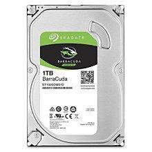 【鴻霖-硬碟】Seagate新梭魚BarraCuda 1TB 3.5吋 桌上型硬碟 (ST1000DM010)