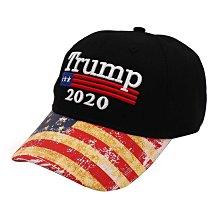 現貨~店長嚴選~新款特朗普2020棒球帽美國總統大選帽子立體繡鴨舌帽-PMD6211