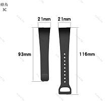 小米手環4C 錶帶 腕帶 比原廠好扣 替換錶帶 4C 替換腕帶 炫彩腕帶 錶帶-蜂鳥3C數碼