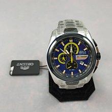 順利當舖 ORIENT/東方 限量稀有大錶徑東方Subaru聯名款計時男錶