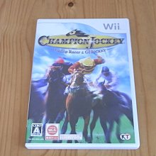 【小蕙館】Wii ~ Champion Jockey 冠軍騎師疾馳賽馬&騎師之道 (純日版)
