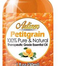 現貨美國 30ml 苦橙葉精油 100%純度天然-未經稀釋治療級--完美適合芳香療法非台灣混雜油分裝  原裝