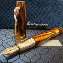 Montegrappa 萬特佳 EXTRA 1930 Turtle Brown 龜殼棕 賽璐珞 限量鋼筆