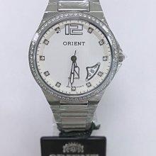 可議價 ORIENT東方錶 女 白鑽面時尚 石英腕錶 (HM51X36S)