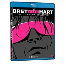 ☆阿Su倉庫☆WWE摔角 Bret Hit Man Hart The Dungeon Collection Bluray
