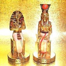 [ Vero 設計家作品 合金鍍金 手工彩繪-法老王后 ]-不拆賣-Egypt埃及古文明.$1680.【預訂品】