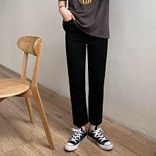 【UBY】超完美黑褲!版型超正的直筒褲◄No04112