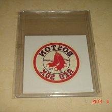 美國職棒  2000 Fleer Red Sox  Temporary Tattoos