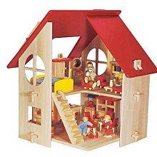 頂級 木屋 積木 別墅 娃娃屋 Country Dollhouse  (佳欣國際 39006 )