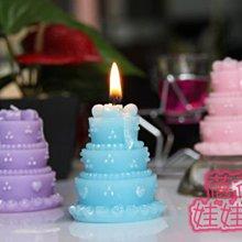蓓蓓結婚禮品屋~歐美婚禮蠟燭系列~蛋糕蠟燭~婚禮小物/婚禮佈置/活動佈置~^0^
