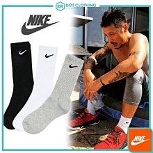 DOT 聚點 NIKE VALUE COTTON CREW 襪子 小勾勾 長襪 SX7664 黑色 單雙 賣場 復古長襪