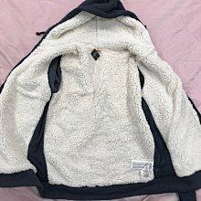 【天普小棧】HOLLISTER HCO Seascape Sherpa-Lined Hoodie熊寶寶鋪毛連帽外套L號