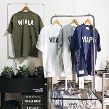 【希望商店】 WTAPS BANNER / SS / COTTON 21SS 雙面 WTVUA  LOGO 短袖T恤