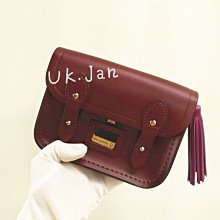 UK.Jan免運現貨 英國 劍橋包 經典Cambridge Satchel│tiny satchel│oxblood