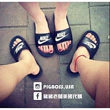 【豬豬老闆】Nike Benassi JDI 黑底 白字 拖鞋 男女鞋343880-090