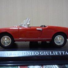 *內壺春角落光陰* 二十世紀經典名車周刊 No 07 Alfa Romeo Giulietta 1/43 模型車
