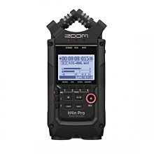 視聽影訊 ZOOM H4n Pro 高音質立體聲麥克風 隨身錄音機(正成公司貨)