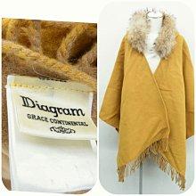 DIAGRAM GRACE CONTINENTAL 浣熊毛可拆起來 近金品 運費可以合併31可當大衣外套