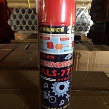 【AL亞樂石油】ALS-777、噴霧式防鏽油、600ML/罐裝【24罐/箱】-單買區