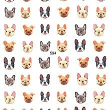 網紅貼紙《 復古ins風3D-593~594 動物貼 》寵物 蛇 貓咪 狗 美甲貼紙 背膠貼紙 貼紙【羽美甲材料】