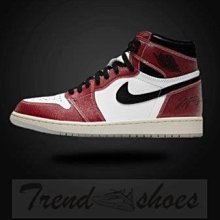 Nike Air Jordan 1 Trophy Room AJ1 高幫 白紅 運動 籃球鞋 DA2728-100 男女