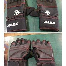 免運☆嘉義水上全宏☆ ALEX A-38 POWER手套 手部及防滑 健身舉重量訓練 體適能有氧運動