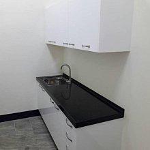 名雅歐化廚具200公分韓國石檯面+上櫃F1木心桶身+下櫃F1木心桶身+五面封水晶門板