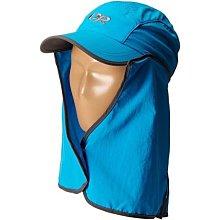 滿3000免運TheNorthFace雙和專賣店OR兒童抗UV透氣護頸帽Sun Runner Cap/243434/藍