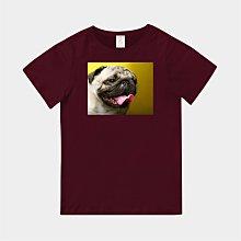 T365 MIT 親子 童裝 情侶 T恤 T-shirt 短T 狗 DOG 汪星人 Pug 巴哥 巴哥犬 毛孩 毛小孩
