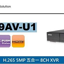 DGD1009AV-U1  8CH/5M/五合一 AHD/TVI/ CVI/960H/ IP