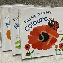 LITTLE STAR 小新星【幼福童書-Pop-Up&Learn Colours/Animals/Numbers/Op