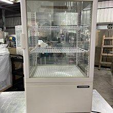 達慶餐飲設備 八里展示倉庫 全新商品 日本製桌上型玻璃展式冰箱