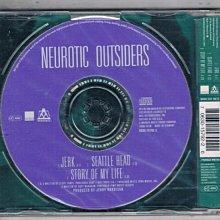 [鑫隆音樂]西洋單曲-NEUROTIC OUTSIDERS JERK {063015792-2}/全新/免競標