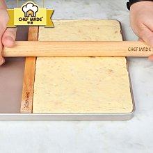 奇奇店-熱賣款 學廚 牛軋糖搟面棍整平器披薩餅餃子皮搟面杖壓棉棒diy烘焙工具