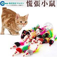 【🐱🐶培菓寵物48H出貨🐰🐹】日本Marukan《慌張小鼠共1隻隨機出貨》逗貓小玩具 CT-241 特價19元