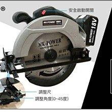 WIN五金 MK-POWER 單主機 無刷185mm圓鋸機 MK-185 板模一刀過 木工鋸片 鐵工切割 切割機 切斷機