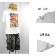 Cotton 麋鹿品牌 白底黑帶高手款 貼身棉T~ 阿法.伊恩納斯 泰國製 霸氣 穿搭 夏天