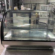 達慶餐飲設備 八里展示倉庫 二手商品 桌上型蛋糕櫃三層