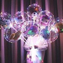 裝飾LED燈線 三顆三號的電池盒常亮 閃爍 三米長30燈 彩燈款(不包含氣球 桿子)