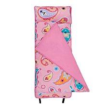 【LOVEBBB】 符合美國標準 Wildkin 49210 粉紅佩絲麗 無毒幼教睡袋/午覺毯/兒童睡袋(2-7歲)