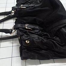 雙e包真皮防水布料包,底一格5公分