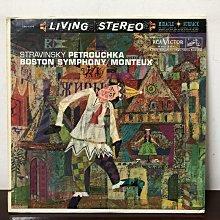 晨雨黑膠【古典】美版RCA Victor/史特拉汶斯基:彼得洛希卡/蒙都/波士頓交響樂團