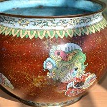 阿國的收藏˙˙˙銅胎掐絲琺瑯大罐