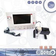 預購商品【鐘錶通】機械錶測錶機– NO.6000 III / 彩色螢幕 / 附說明書 ├修錶工具/機械錶檢修┤